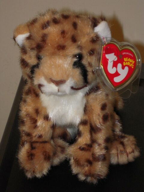 5ad4490c1d1 Ty Beanie Baby ~ CHITRAKA the WWF Cheetah ~ Exclusive ~ MINT with MINT TAGS