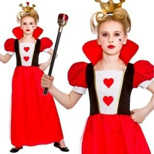 image is loading child kids girls queen of hearts alice outfit