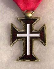 Medieval Catholic Church Portugal Knights Order Cristos Christ Cross Medal Award