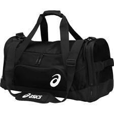c7c220f2b83 ASICS Edge II Medium Black Duffle Bag Zr3435 for sale online | eBay