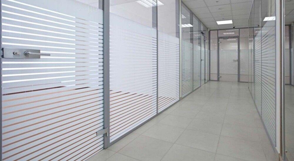 Blau Milchglasfolie Sichtschutz Büro, Büro, Büro, Bad Küche 50 x 1.22 meter selbstklebend 5a3358