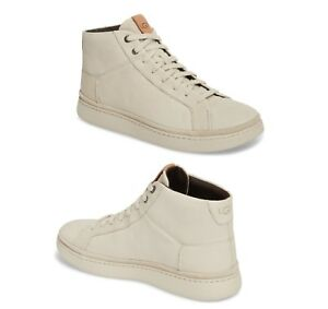 a9290605af6 UGG Shoes Fashion Men 1094653 Cali Sneaker High Top White Parchment ...
