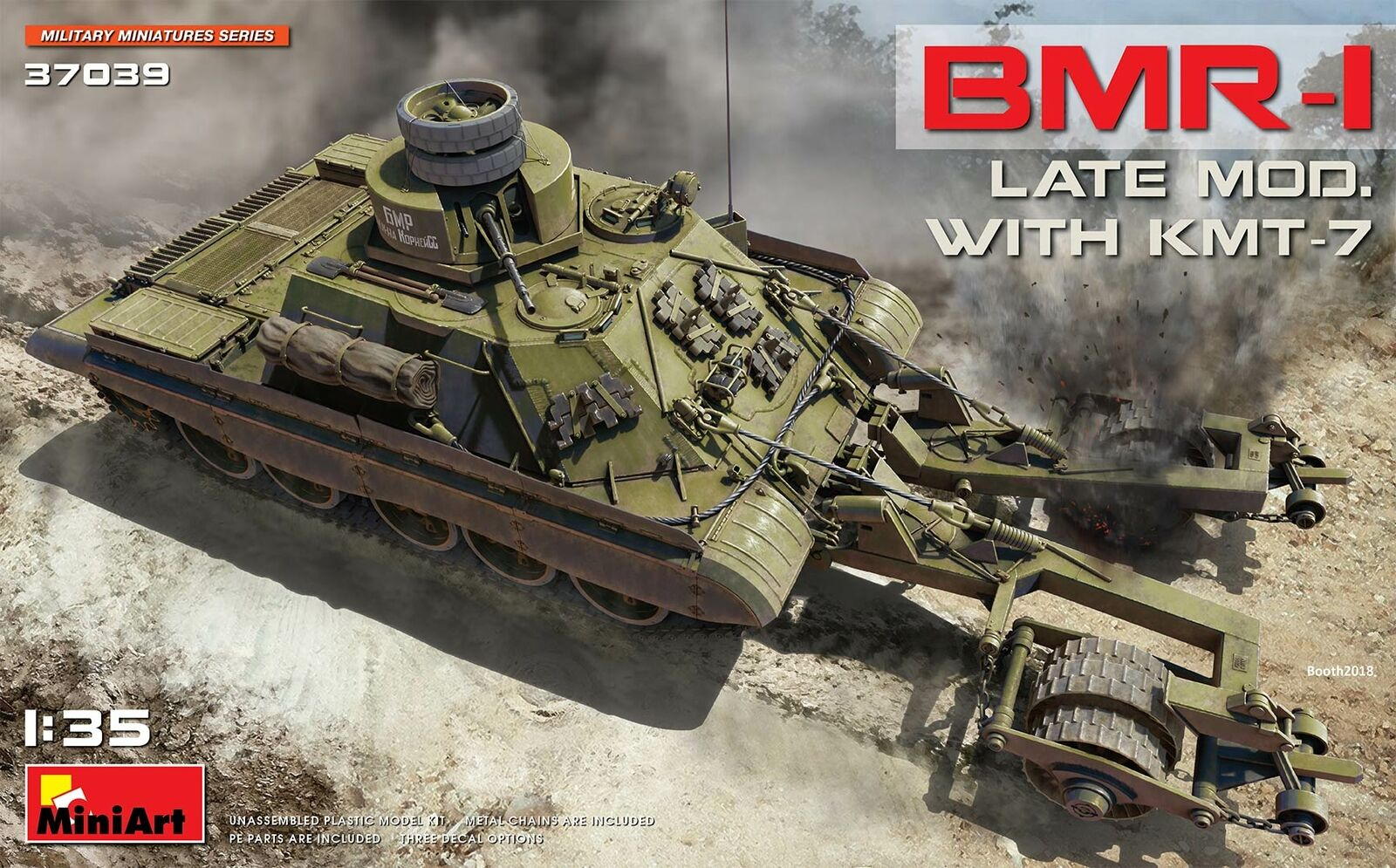 Miniart 1 35 BMR-I Late Mod. with KMT-7