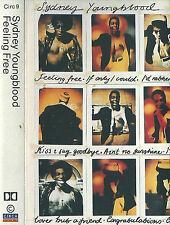 SYDNEY YOUNGBLOOD FEELING FREE CASSETTE ALBUM Electronic House Synth-pop CIRCA 9