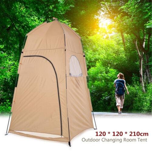 UK Portable Pops Up Changing Tent Toilet Shower Camping Room Outdoor Indoor
