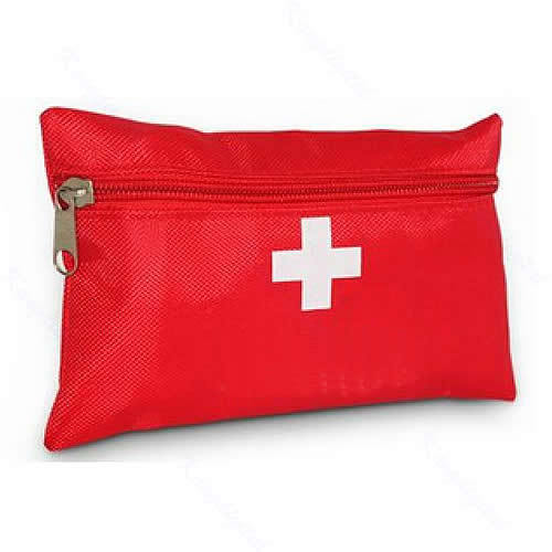 New First Aid Emergency Medical Kit Survival Wrap Gear Hunt Camp