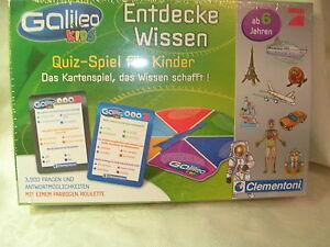 Galileo Entdecke Wissen Quiz Spiel Für Kinder Kartenspiel Ab 6 Jahre