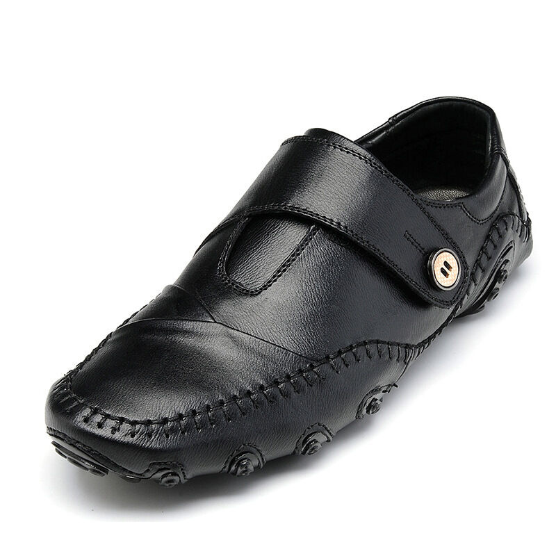 Men's Leather shoes Driving Moccasin Classic Fashion Casual Loafers formal dress