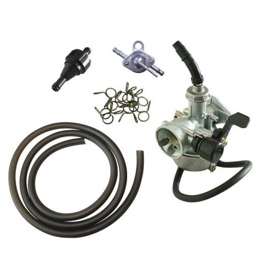 19mm PZ Carburetor Black CNC Fuel Filter Fits 70cc//110//125 Pit Dirt Bike ATV