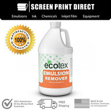 Ecotex Emulsion Remover Industrial Screen Printing Chemicals 1 Gallon