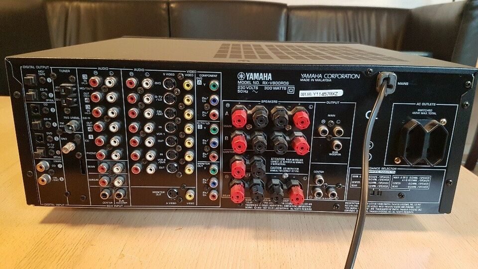 Yamaha, AV Receiver RX-V800 RDS, 5.1 kanaler