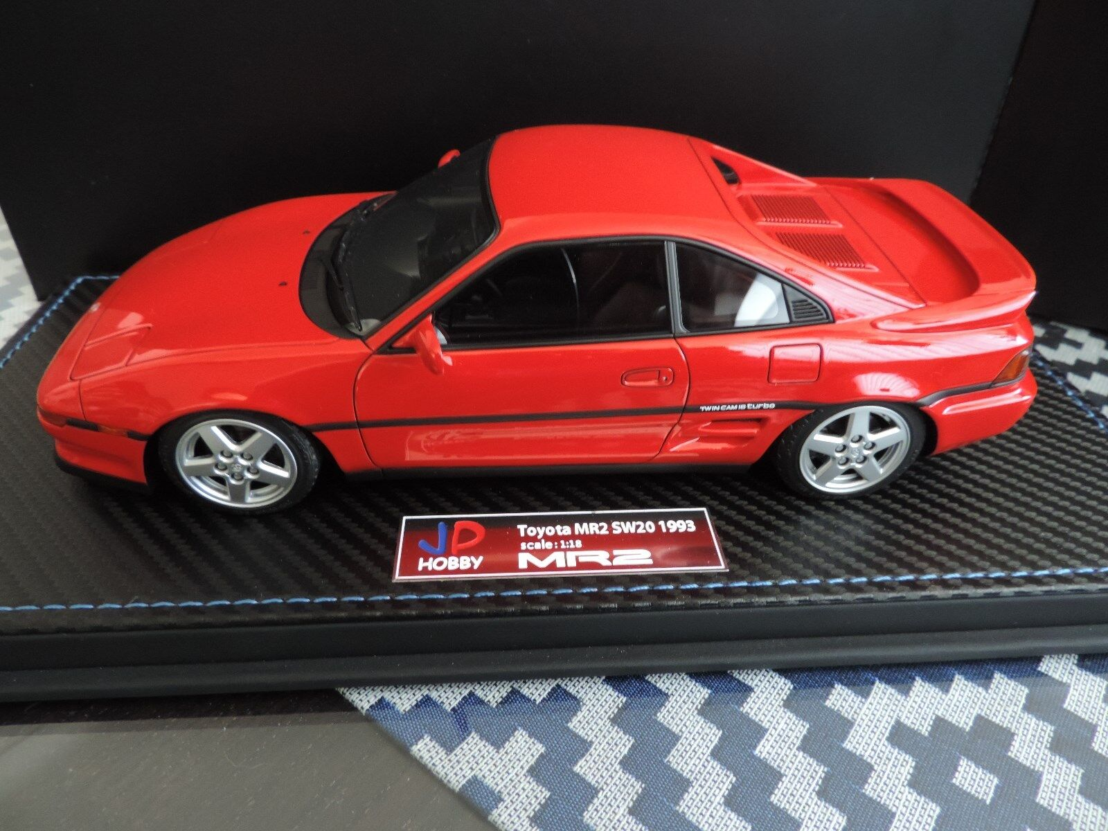 TOYOTA MR2 MR 2 SW20 1993 TURBO ROUGE JP HOBBY 1 18 NO OTTOMOBILE LookSmart BBR