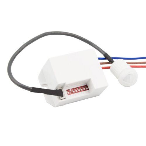 360 ° Mini Encastrés PIR Plafond Occupancy Capteur Mouvement Détecteur Lumière Commutateur