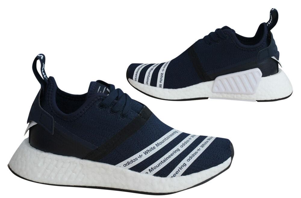 Adidas Originals blanc Mountaineering NMD R2 Primeknit Baskets Homme BB3072 M17-