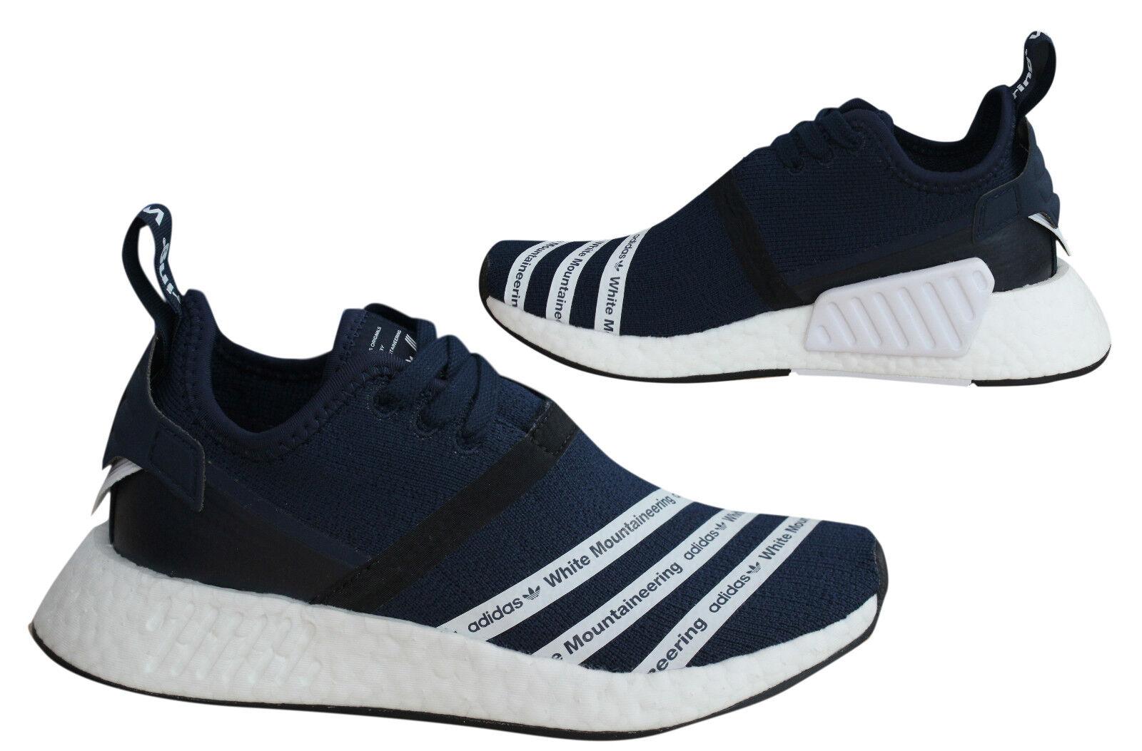 Adidas Originals White Mountaineering NMD R2 Primeknit Mens Trainers BB3072 M17
