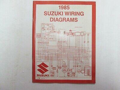 1998 suzuki motorcycle atv wiring diagram manual
