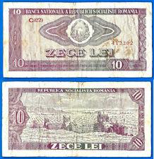 FREE SHIPPING WORLDWIDE 10 lei 1966 ROMANIA