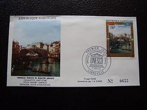 Umschlag 1 b1 Bescheiden Gabun Briefmarke a Tag 7/2/1972