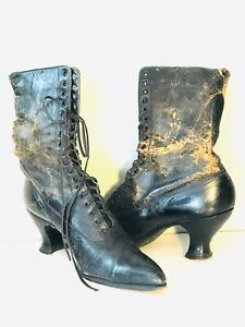 Black Victorian Boot | Luci