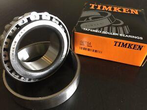 25590//25520 Wheel Bearing and Race Set-Race Set Front Inner TIMKEN SET54