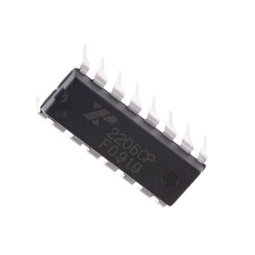 XR2206 Monolithic Function Generator IC 16 PIN DIP XR2206CP SU