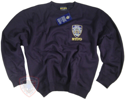 NYPD Shirt Sweatshirt Officially Licensed By The New York City Police Department