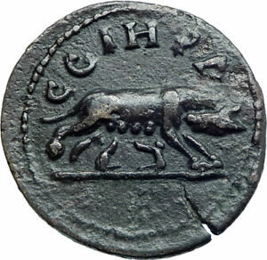 CARACALLA-198AD-Parium-Parion-Mysia-Authentic-Ancient-Roman-Coin-WOLF-i78544