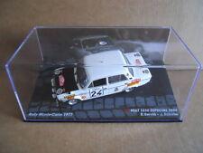 Rally Model Car SEAT 1430 SPECIAL 1800 S.Servia Monte Carlo 1977 IXO 1:43  [MK]