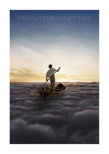 Quadro su pannello in legno MDF Pink Floyd The Endless River Misura 60x90 CM