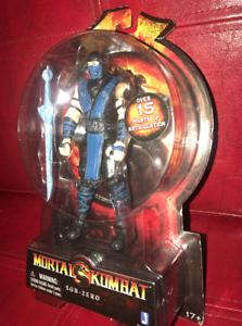 Mortal Kombat Sub - Zero Action Figure 6inch New & Sealed