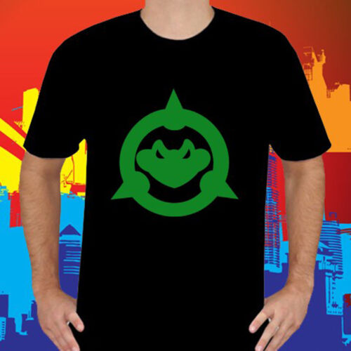 New Battletoads Video Game Character Symbol Men/'s Black T-Shirt Size S to 3XL