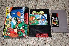Super Mario World 2 Yoshi's Island (Super Nintendo SNES, 1995) Complete FAIR A B