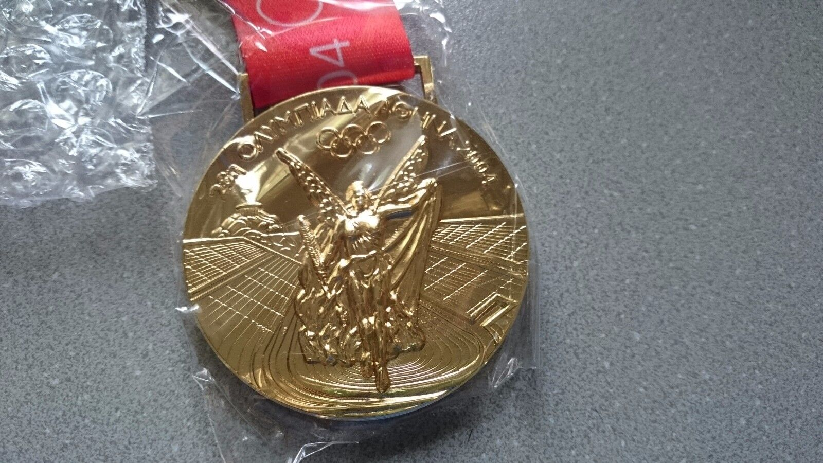Goldmedaille Gold Olympia Olympische Spiele Medaille Athen 2004 2004 2004 087aaa