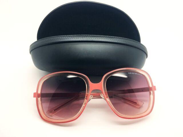 ab295f1bd3fa Emporio Armani Sunglasses For Women EA9852 S Italy Authentic+Case Free  Shipping