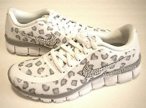 nike free 5.0 with swarovski crystals