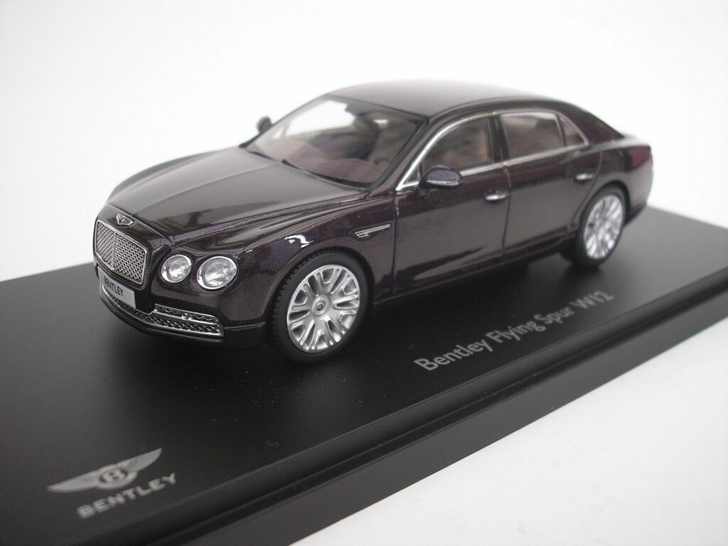 Bentley Flying Spur W12 2012 Damson 1 43 Kyosho 05561D NEW
