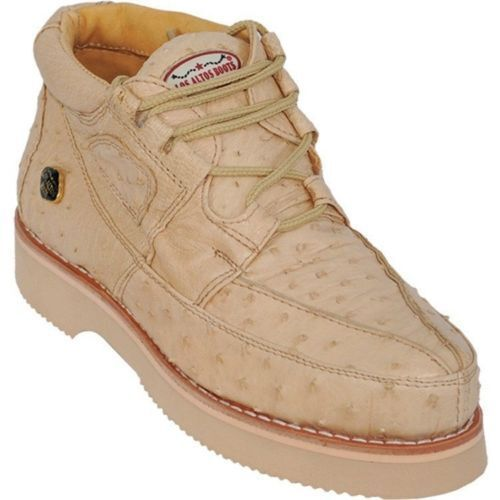 Los Altos Genuine ORYX Ostrich Casual shoes Lace Up Handmade Sneaker EE