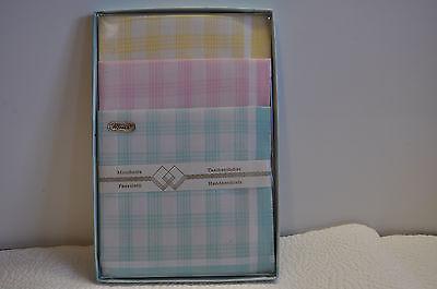 3 Damen Taschentücher, Nr .14 Exzellente QualitäT