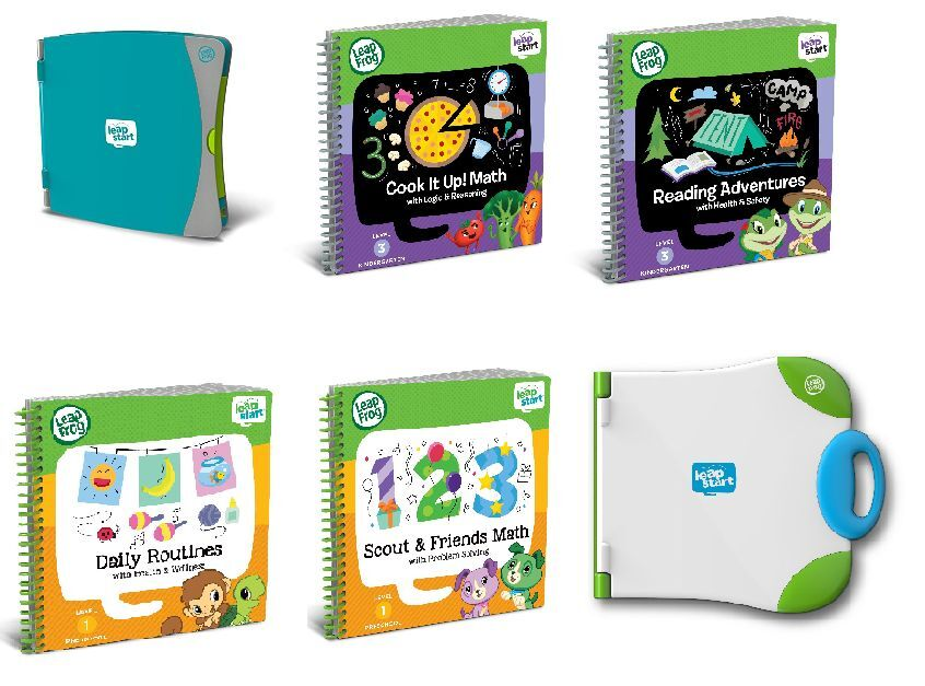 LeapFrog LeapStart and Books BRAND NEW