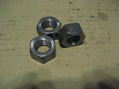9//16-18 PLAIN HEX JAM NUTS 50 PCS AA7448-50