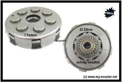 Vespa Kupplung 22 Zähne 6 Federn Vespa PX 125-150 alt