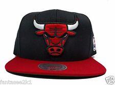 pick up 0ecb6 7e85a Chicago Bulls Mitchell   Ness XL Logo Black 2 Tone STA3 HWC Snapback Hat  Cap NBA
