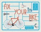 Fix Your Bike: Repairs and Maintenance for Happy Cycling by Jane Moseley, Jackie Strachan (Hardback, 2015)