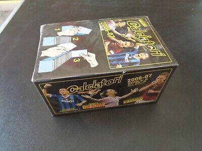 BOX DA 100 BUSTINE DI FIGURINE PANINI CALCIATORI 2005-2006 SIGILLATO SEALED