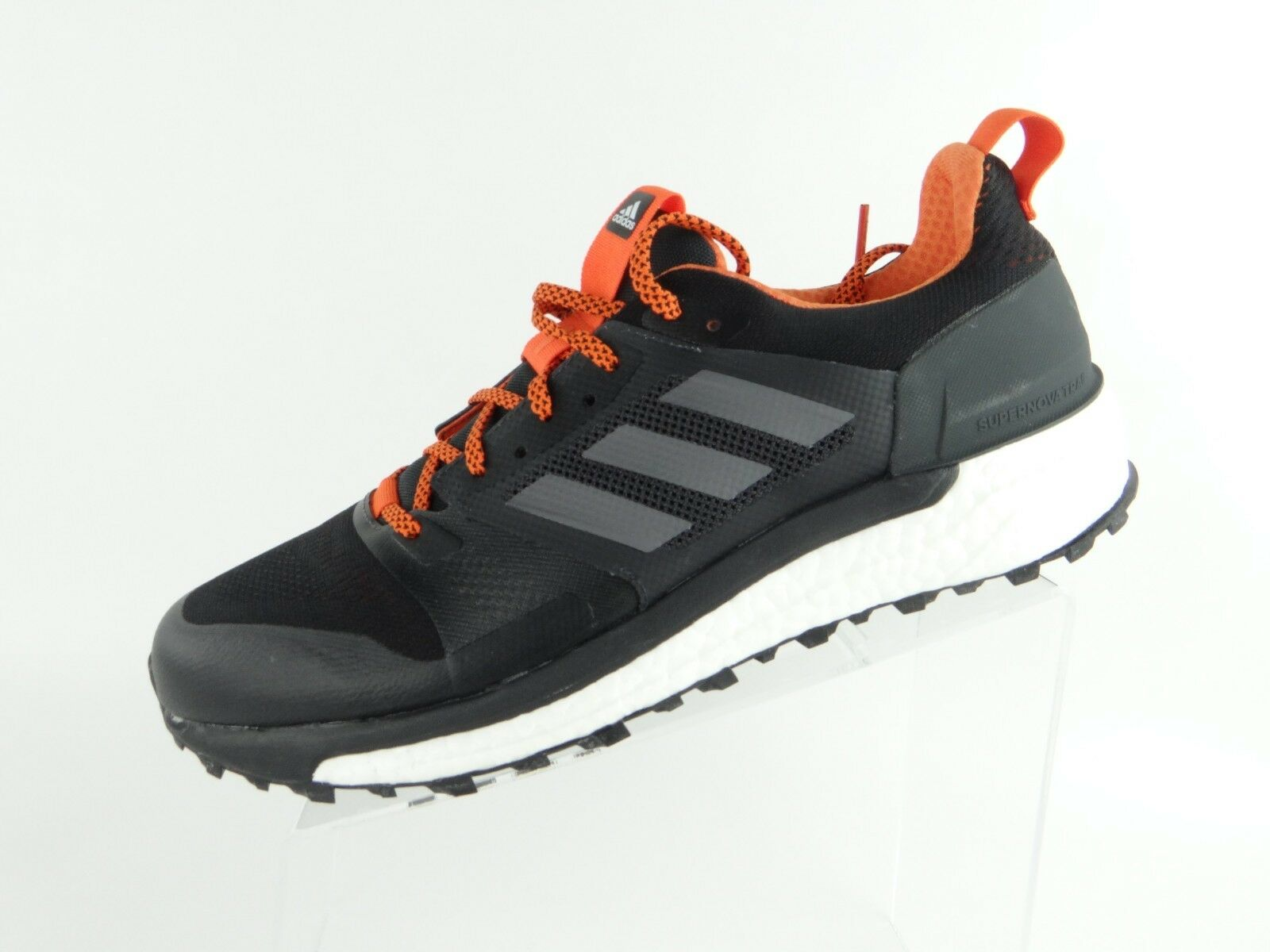 Adidas Supernova Boost Men's Size 12.5 Trail Running shoes Black Carbon CG4025