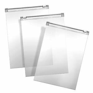 Sacchetti-con-Chiusura-Zip-Sacchetti-Richiudibili-Borsa-Trasparente-Plastica