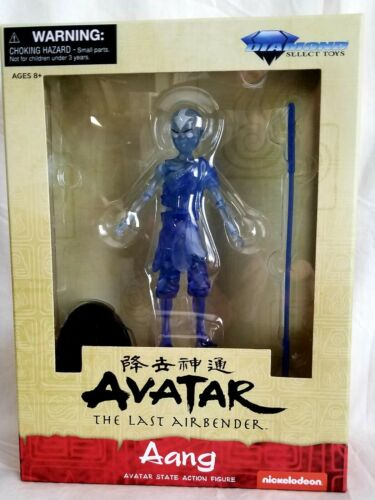 Aang THE LAST AIRBENDER WALGREENS EXCLUSIVE DIAMOND SELECT TOYS Avatar State