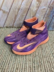 new concept c7c05 1c572 Image is loading Nike-Zoom-HyperRev-Atomic-Purple-Citrus-Orange-Mens-