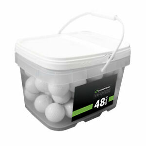 48-Kirkland-Signature-Mix-Used-Golf-Balls-AAAAA-In-a-Free-Bucket
