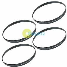 """1425mm (56"""") BandSaw Blades 10 tpi For Cutting Metal Plastic Wood 4 Pack"""